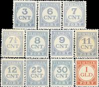 Holland 1921-1938 - P69-P79 - Ubrugt