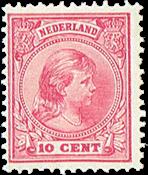 Holland - NVPH 37 - Ubrugt