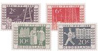 Jubileumzegels 100 jaar Rijkstelegraaf