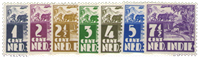 Nederland Indië - 1938-1939 - Nr. 246-252 - Postfris