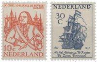Nederland 1957 - NVPH 693-694 - Postfris