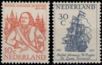 De Ruyter-zegels 1957 (nr. 693-694, postfris)