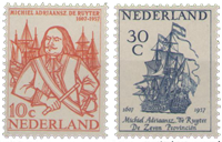 Nederland 1957 - Nr. 693-694 - Postfris