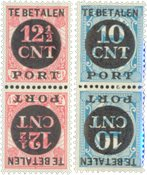 Holland - NVPH P67a+P68a - Postfrisk