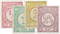 Holland 1876-1894 - NVPH 30-33 - Ubrugt