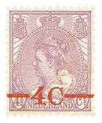 Holland 1921 - NVPH 106 - Ubrugt