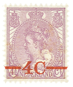 Holland 1921 - NVPH 106 - Ubrugt