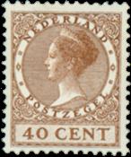 Holland - NVPH 160 - Ubrugt