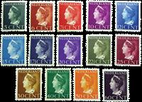 Holland - NVPH 332-345 - Ubrugt