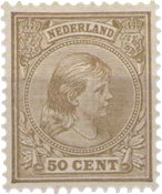 Holland - NVPH 43 - Ubrugt