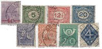 Holland 1921-1923 - NVPH 106-113 - Stemplet