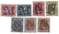 Holland 1923 - NVPH 114-120 - Stemplet