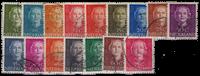 Nederland - Nr. 518-533 - Gebruikt