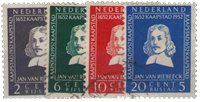 Holland 1952 - NVPH 578-581 - Stemplet
