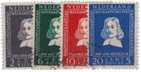 Holland 1952 - NVPH 578-581 - Stemplet