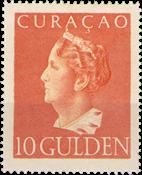 Curacao - 10 gld oranje Konijnenburg (nr. 181, ongebruikt)