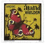 Åland - Papillons - Timbre neuf