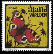 Åland - Sommerfugl - Postfrisk frimærke