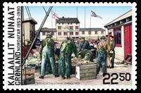 Grønland - Nordafar - Postfrisk frimærke