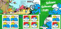 Switzerland - Smurfs - Mint booklet