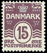 Danmark - Bogtryk - AFA nr. 46 - Postfrisk