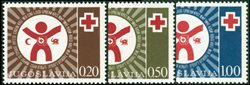 Yougoslavie 1977 Croix Rouge *