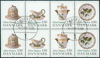 Danemark - Flora Danica bande double