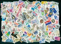 France 1980-90 - 250 different stamps