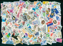 France - 250 timbres 1980-90