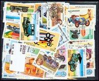 50张不同有关车类的邮票