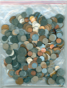 1 kg mixed Danish coins