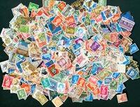 3500多枚邮票世界各地