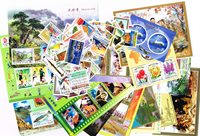 朝鲜新票,2008年,17枚小型张和62枚套票