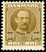Danmark 1907 - AFA 59 - Postfrisk