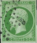 Frankrig 1854 - YT 12