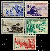 France - Borodino 1942 YT 6-10 neuf - Neuf