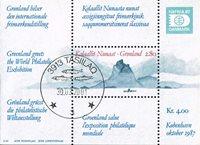 Groenland - Bloc de l'expo Hafnia - Obl.
