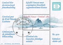 Grønland hafnia blok stemplet