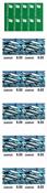 Danemark - Poissons - Carnet neuf 10 x 6 DKK