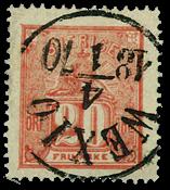 Sverige 1862-66 - AFA nr.16 stemplet