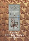 Belgique - Henry Van de Velde - Bloc-feuillet neuf