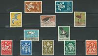 Holland årgang 1961 - Postfrisk