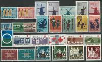 Holland årgang 1963 - Postfrisk