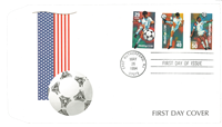 USA 1994 - FIFA WK - FDC met serie