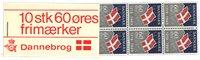 Danmark 1969 - Dannebrog hæfte