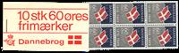 Danemark - Carnet *Dannebrog* 1969