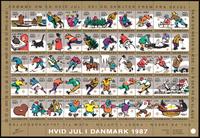 Danmark jul 1987 foldet