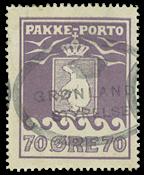 Groenland colis postaux Thiele 1930, 70 øre
