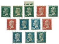 France 1923 - YT 170-81 neuf - Neuf