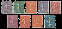 Frankrig - YT 197-205 - Postfrisk